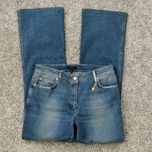 Escada boot cut blue jeans